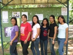 From left: Dianne, Reisha, Mia, Eloisa, Marra, Donna